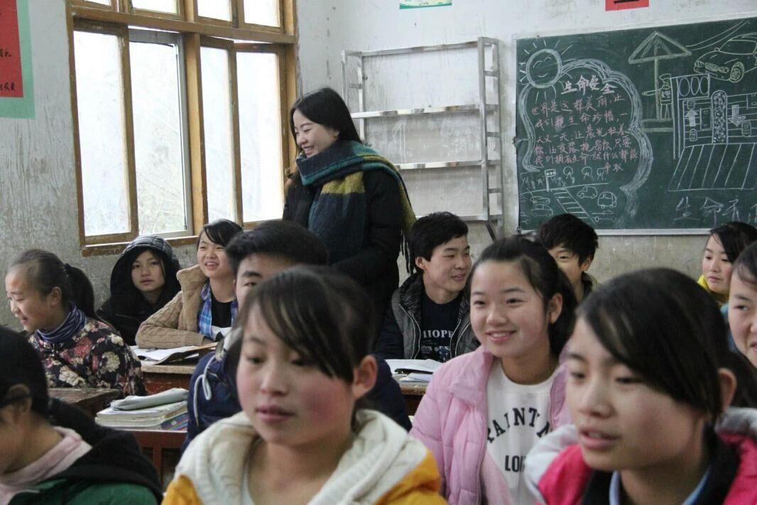 部门新闻 正文  寒假支教生活不仅实现了大学生们的支教梦,也给乡村